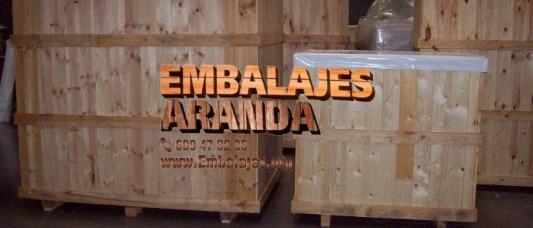 Embalaje industrial Robledo de Chavela Madrid
