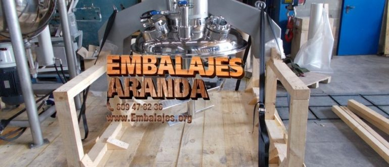 Embalaje industrial Ronda Málaga