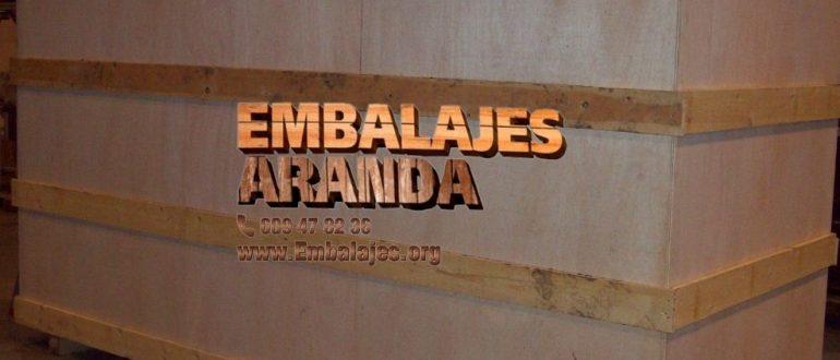 Embalaje industrial San Agustín del Guadalix Madrid
