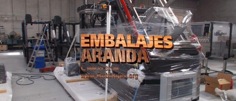 Embalaje industrial San Andrés del Rabanedo