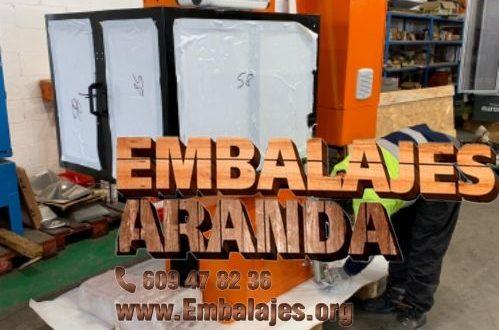 Embalaje industrial San Clemente Cuenca