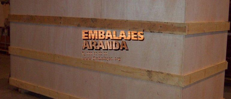 Embalaje industrial San Sebastián de los Reyes