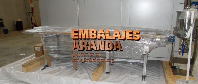 Embalaje industrial Sanlúcar de Barrameda