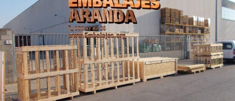 Embalaje industrial Sant Andreu de Llavaneres Barcelona