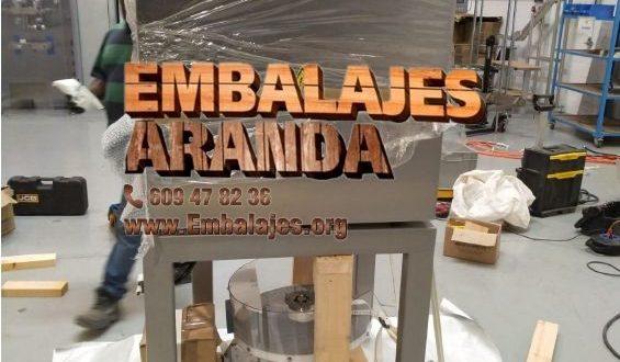 Embalaje industrial Sant Joan de Labritja Illes Balears