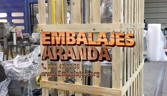 Embalaje industrial Sant Pol de Mar Barcelona