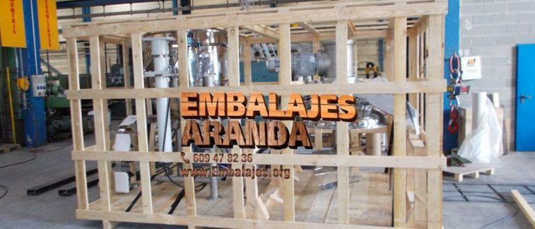 Embalaje industrial Santa Brígida Las Palmas