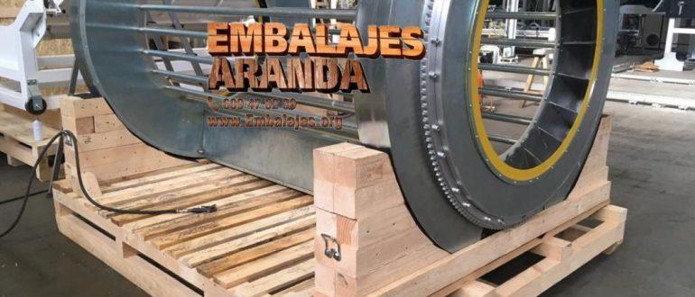 Embalaje industrial Santa Coloma de Farners Girona