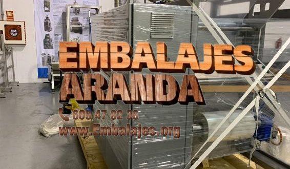 Embalaje industrial Santa Cruz de la Zarza Toledo