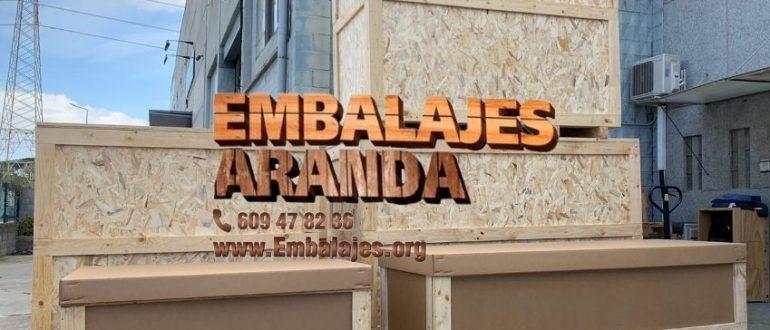 Embalaje industrial Santa Marta de Tormes Salamanca