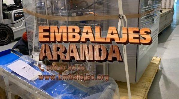 Embalaje industrial Santa Pola