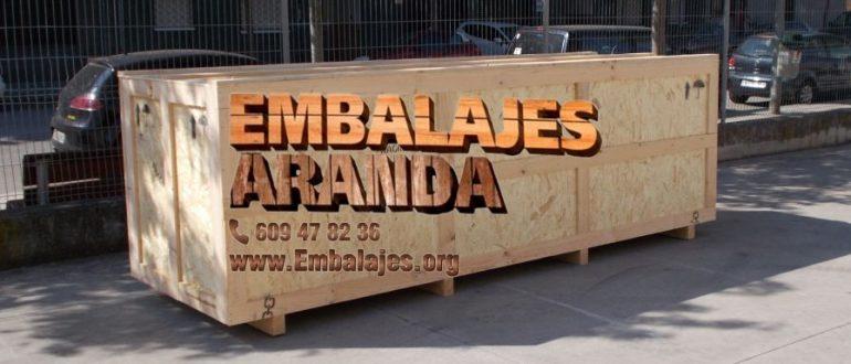 Embalaje industrial Segovia