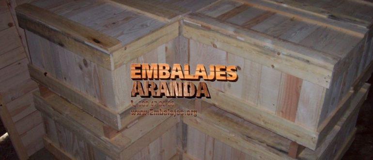 Embalaje industrial Simancas Valladolid