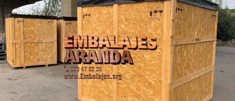Embalaje industrial Sitges Barcelona