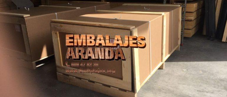 Embalaje industrial Sotillo de la Adrada Ávila