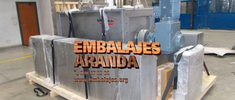 Embalaje industrial Sueca Valencia