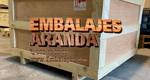 Embalaje industrial Tamarite de Litera Huesca