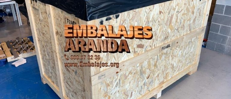 Embalaje industrial Tàrrega Lleida