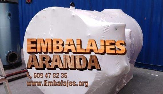 Embalaje industrial Tobarra Albacete