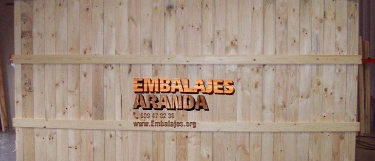 Embalaje industrial Tordesillas Valladolid