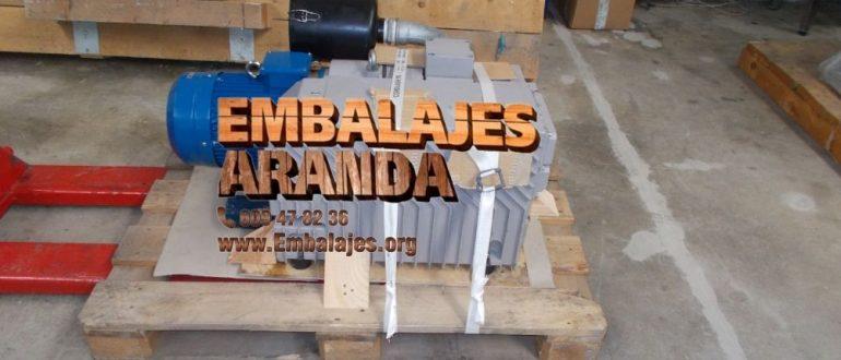 Embalaje industrial Torrejón del Rey Guadalajara