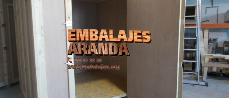 Embalaje industrial Torrelles de Llobregat Barcelona