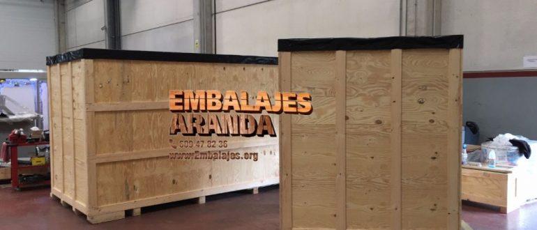 Embalaje industrial Tudela de Duero Valladolid