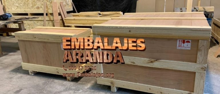 Embalaje industrial Utrillas Teruel