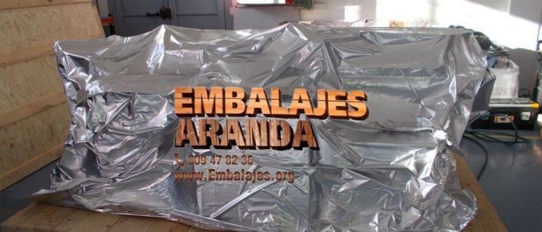 Embalaje industrial Valdés Asturias