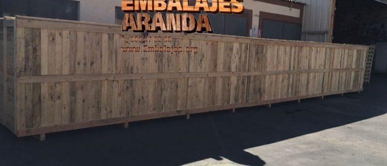 Embalaje industrial Vallirana Barcelona