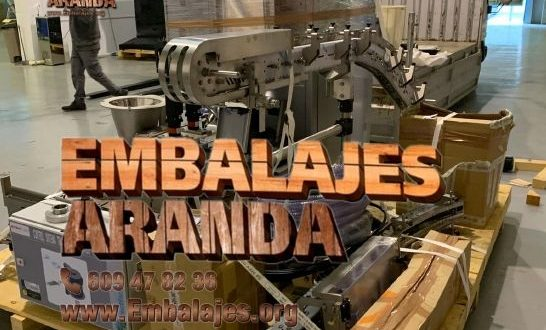 Embalaje industrial Valmojado Toledo