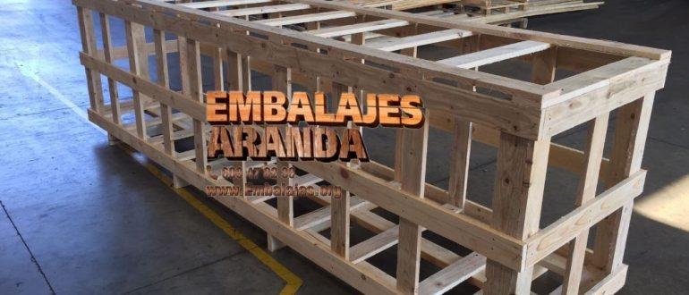 Embalaje industrial Vandellòs Tarragona