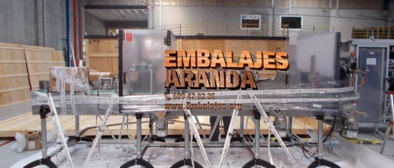 Embalaje industrial Vegadeo Asturias