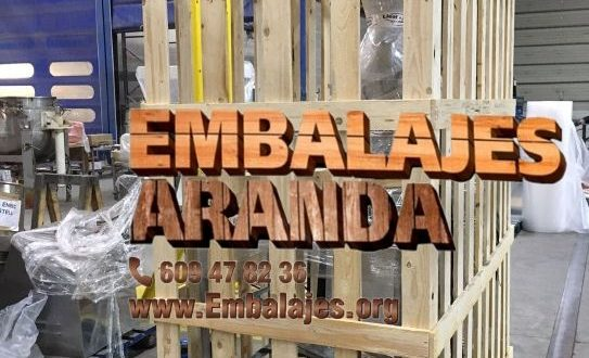 Embalaje industrial Velilla de San Antonio Madrid