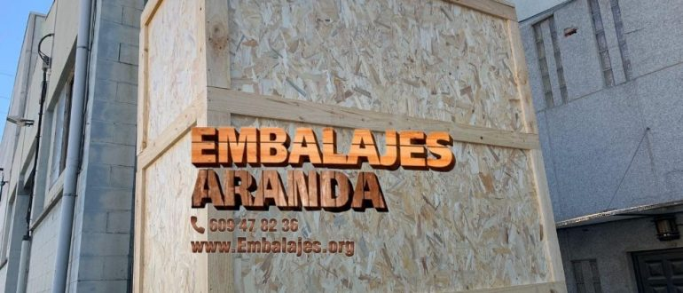 Embalaje industrial Vilafranca del Penedès