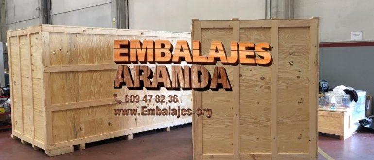 Embalaje industrial Vilanova del Camí Barcelona
