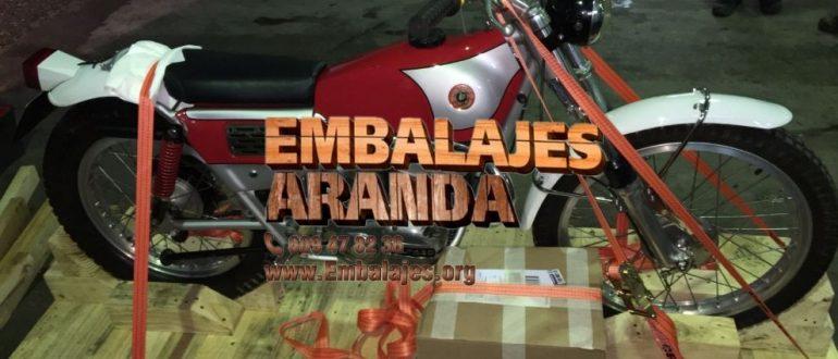 Embalaje industrial Villafranca de los Barros Badajoz