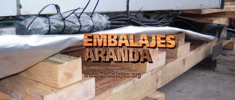 Embalaje industrial Villagarcía de Arosa