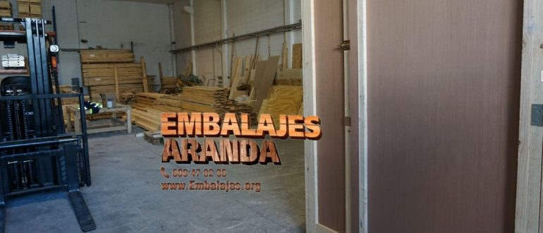 Embalaje industrial Villalbilla Madrid