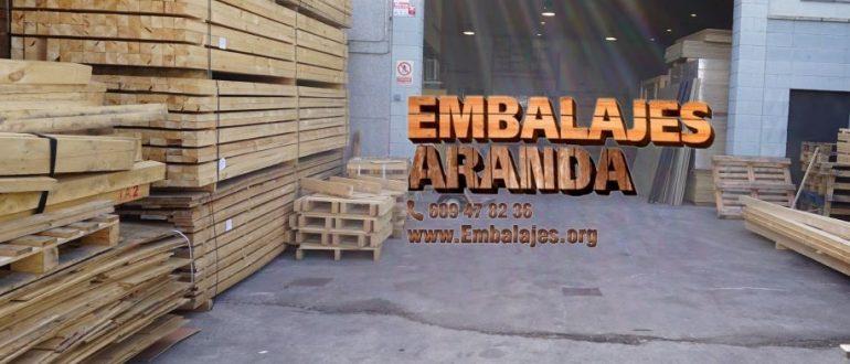 Embalaje industrial Villanueva de Gállego Zaragoza