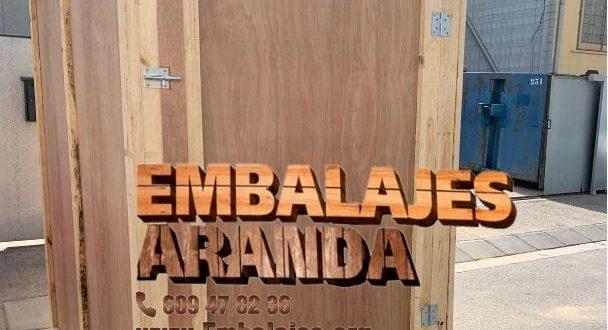 Embalaje industrial Villanueva del Pardillo Madrid