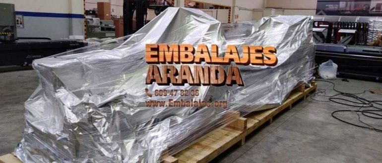 Embalaje industrial Villanueva del Trabuco Málaga