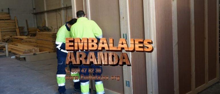 Embalaje industrial Villarrubia de los Ojos Ciudad Real