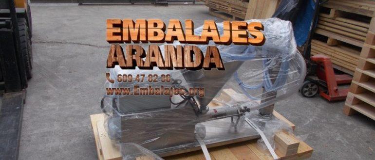 Embalaje industrial Yunquera de Henares Guadalajara