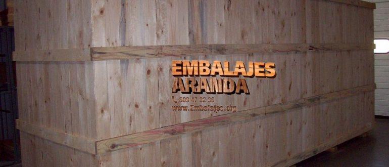 Embalaje industrial Zaratán Valladolid