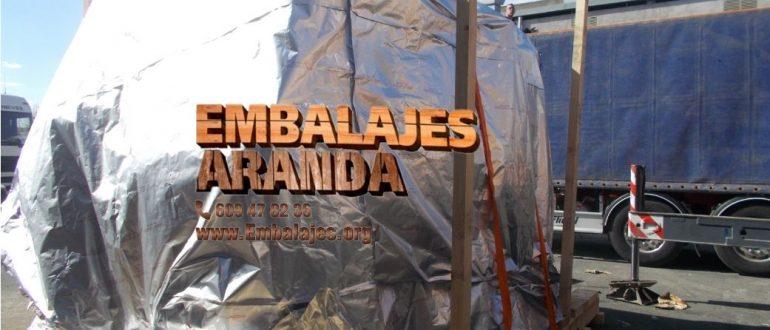 Embalaje industrial A Pobra do Caramiñal A Coruña