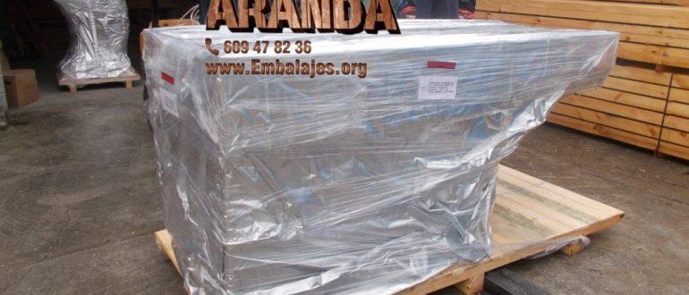 Embalaje industrial Abanto-Zierbena Bizkaia