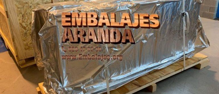 Embalaje industrial Aretxabaleta Gipuzkoa