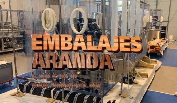 Embalaje industrial Azuaga Badajoz