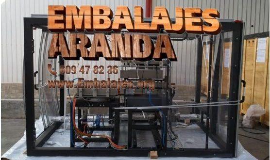 Embalaje industrial Berriz Bizkaia